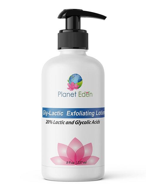 Planet Eden 20% Gly-Lactic Lotion 8 oz Bottle