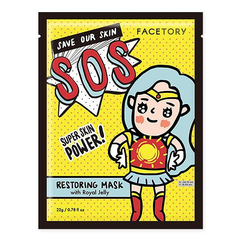 FaceTory SOS Restoring Mask with Royal Jelly