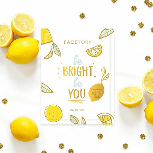 Be Bright Be You Lemon Face Mask - Face Tory