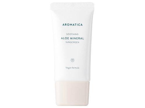 AROMATICA Aloe Vera Sunscreen SPF 50+++ Soothing 1.6 OZ