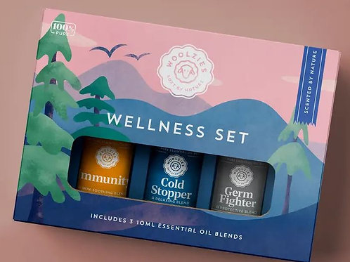 Woolzies Wellness Set - Immunity, Cold Stopper and Germ Fighter