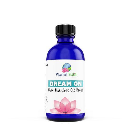 Planet Eden DREAM ON Essential Oil Synergy Blend for Sleep Insomnia & Relaxation