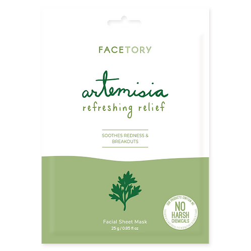 FaceTory Artemisia Refreshing Relief Facial Sheet Mask