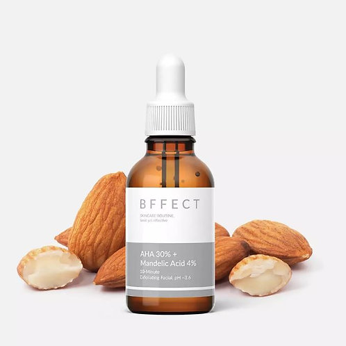 BFFECT AHA 30% + Mandelic  4%  Acid Serum - 1 oz