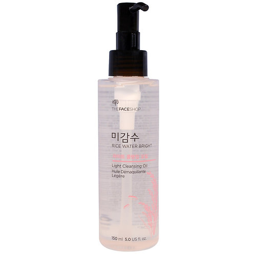 THE FACE SHOP - Rice Water Bright Light Cleansing Oil 150ml