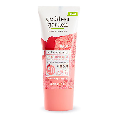 Goddess Garden - Baby SPF 50 Mineral Sunscreen Lotion - Sensitive Skin