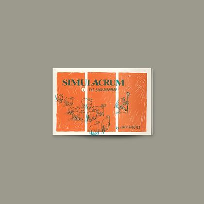 Simulacrum #1: The Good Shepherd • John 1 • Mini-comic Zine