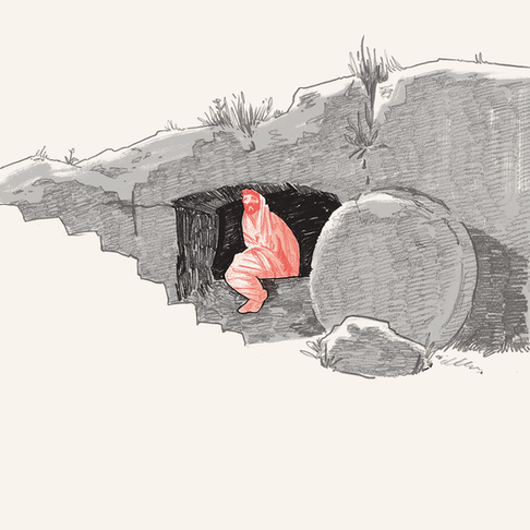 STATION XIII. THE EMPTY TOMB