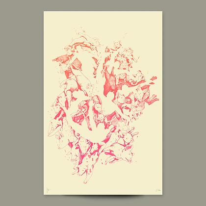 Pigs • Mark 5 • Ltd Ed Poster by Stephen Procopio