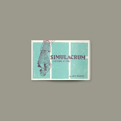 Simulacrum #2: A Bestowal of Coins • Luke 19 • Mini-comic Zine