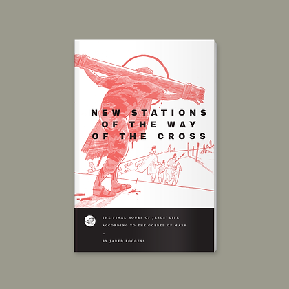 New Stations of the Cross • Mark 12-14 • Illustrated by Jared Boggess