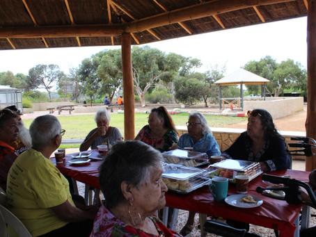 Language elders morning tea