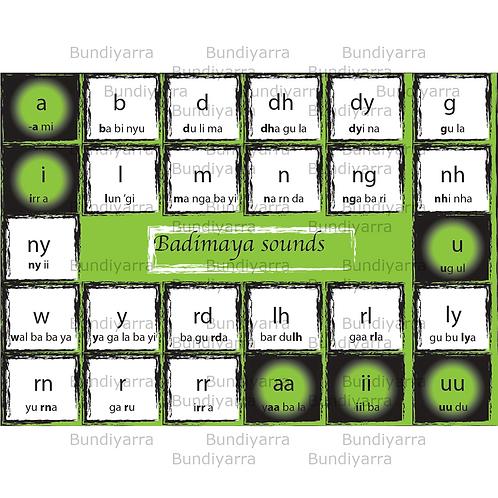 Badimaya Sounds (topical poster)