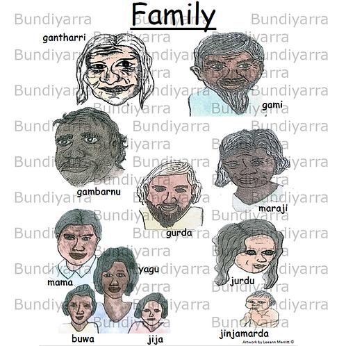 Wajarri Family