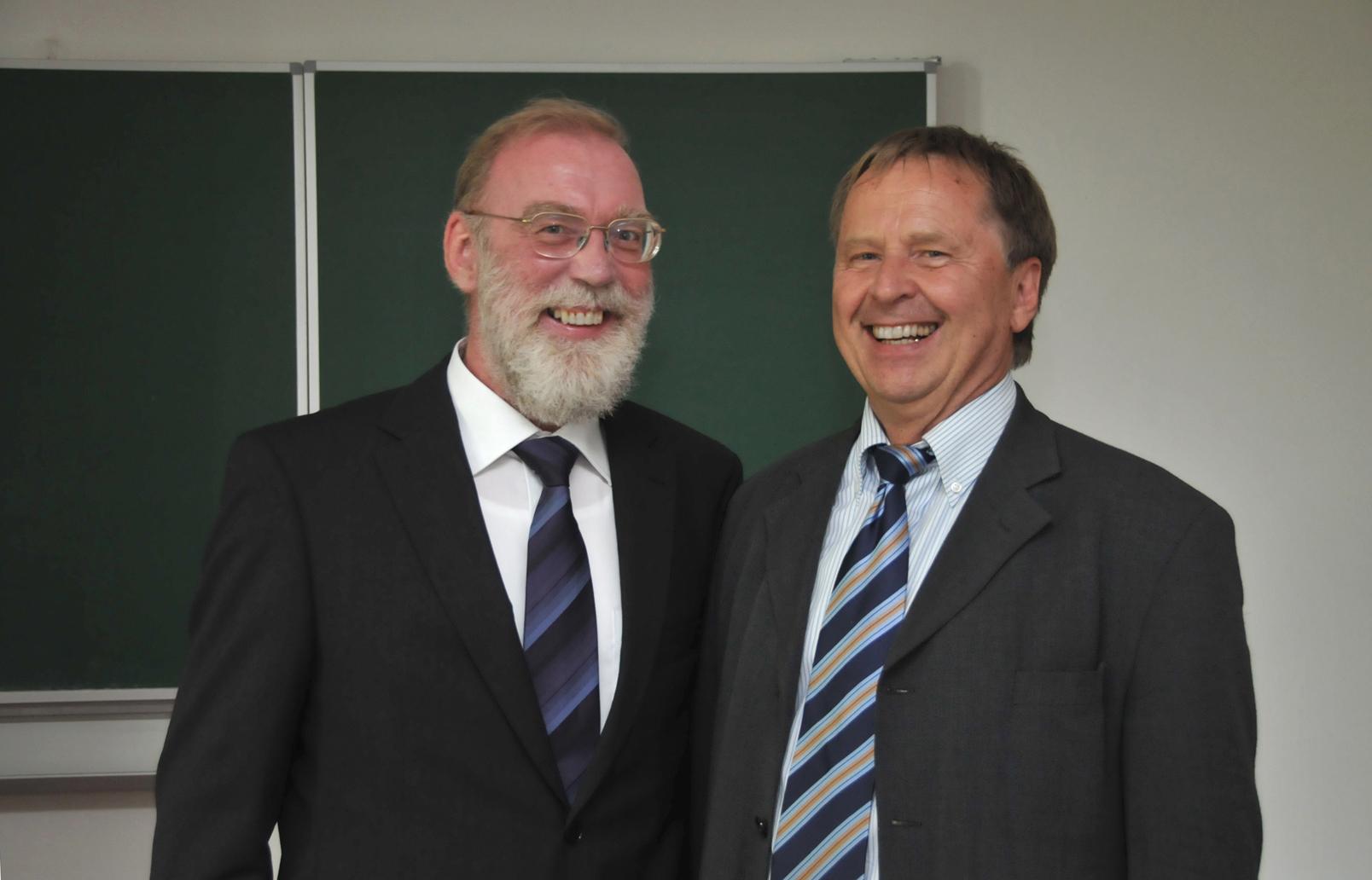 Prof. Wolfram Weisse.