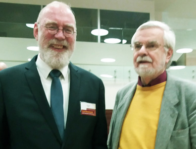 With Prof. Wolfdietrich Schmied-Kowarzik