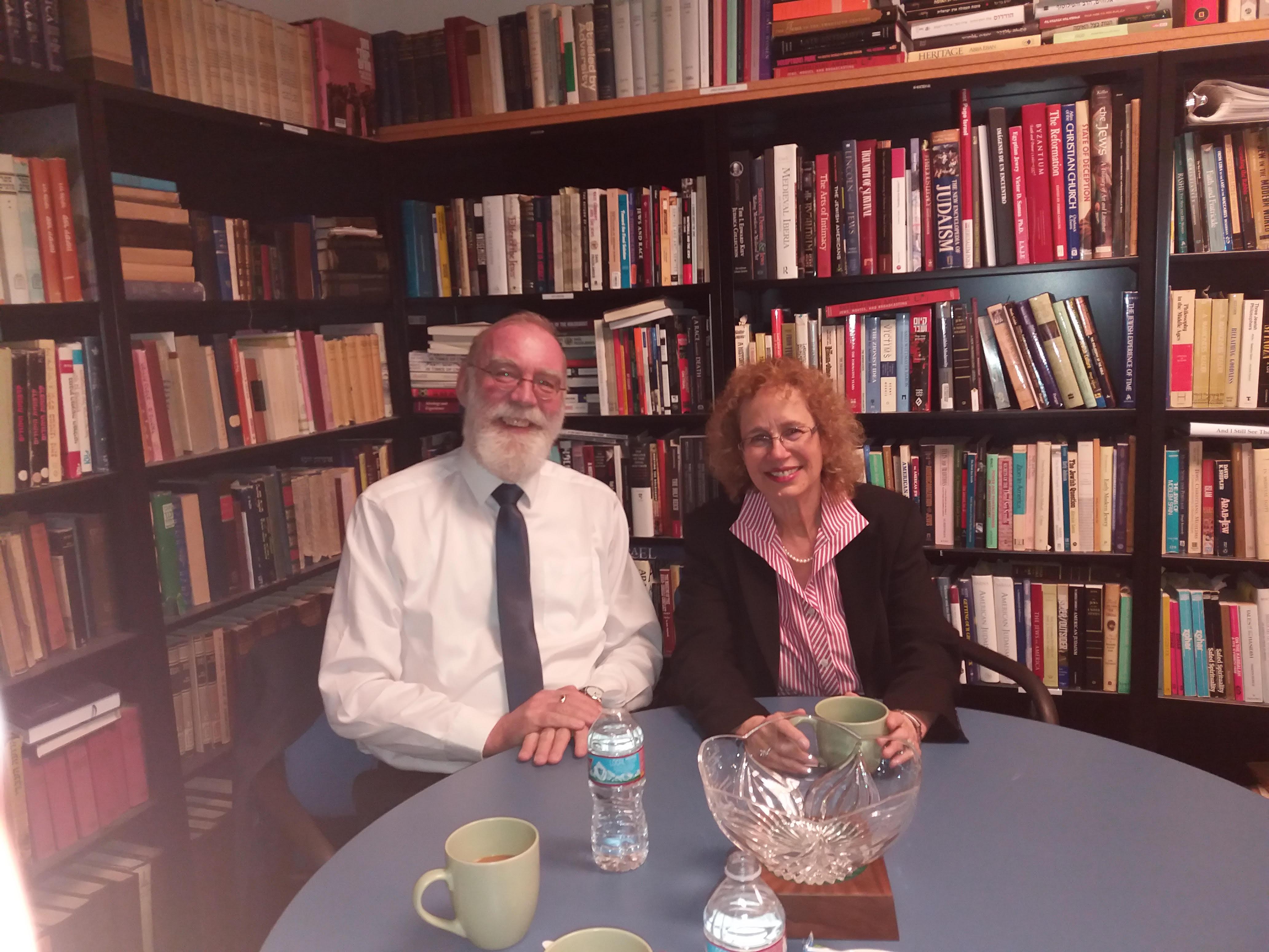 With Prof. Hava Tirosh