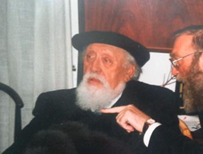 With Prof. Reuven Feuerstein