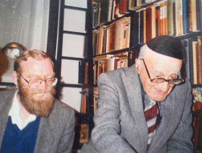 With Prof. Yeshayahu Leibowitz