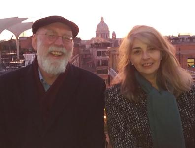With Prof. Danielle Cohen-Levinas
