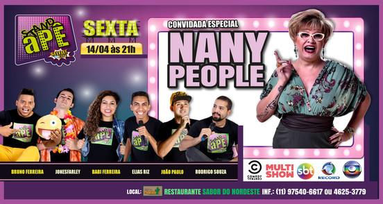 Stand Apê com Nany People