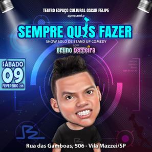Show Solo Bruno Ferreira