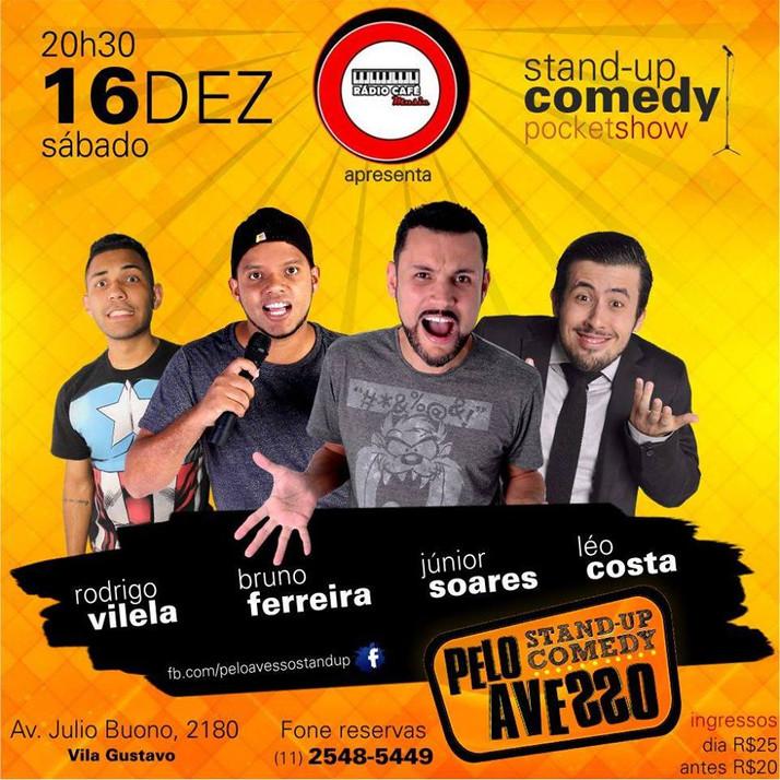Pelo Avesso Stand Up Comedy