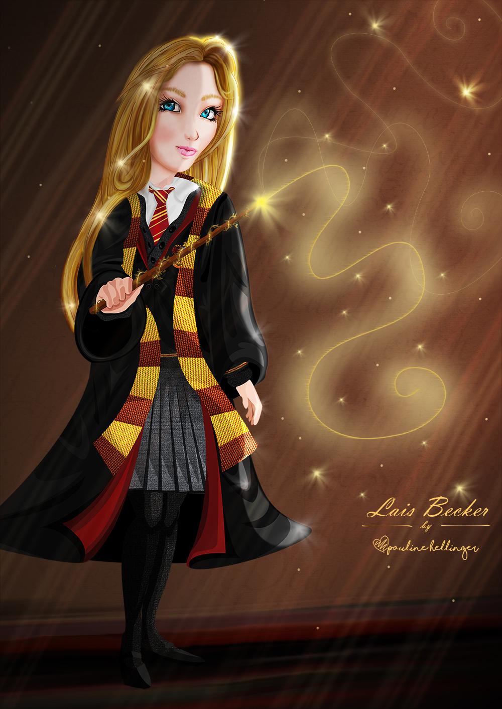 Bruxinha de Hogwarts