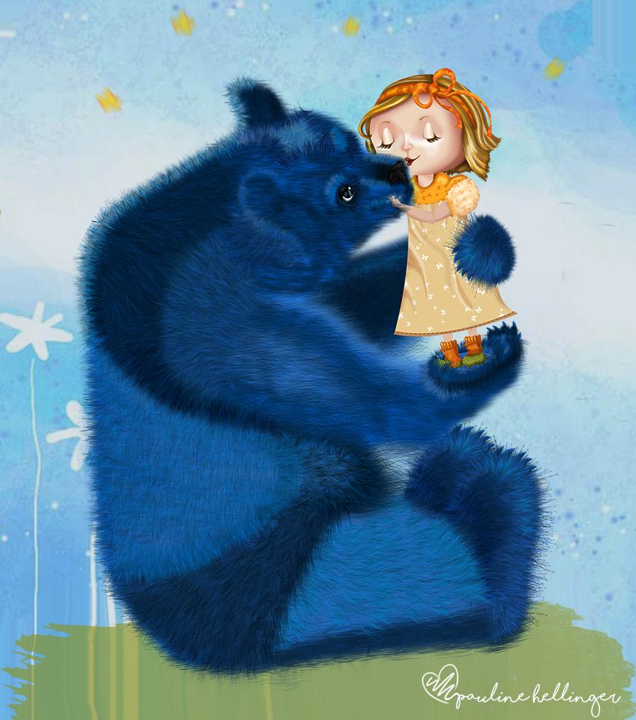 A Menina e o Urso