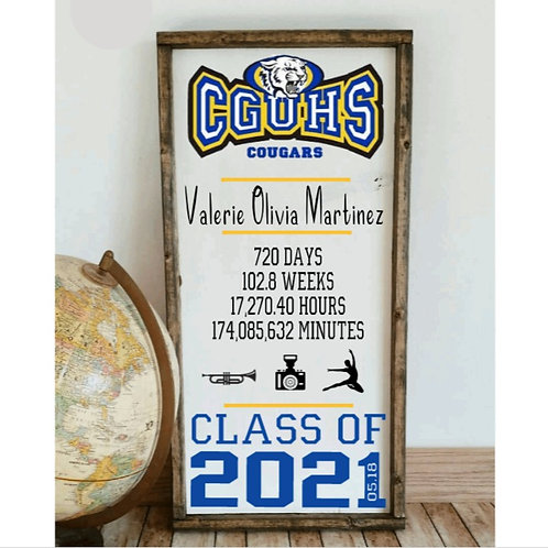 DIY: 2021 Graduation Board