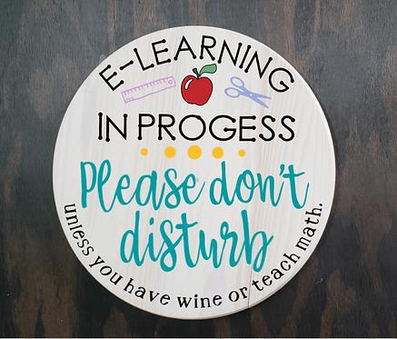 DIY: E-Learning In Progress (starting at $25.00)