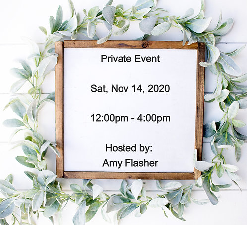 Private Event (A. Flasher)
