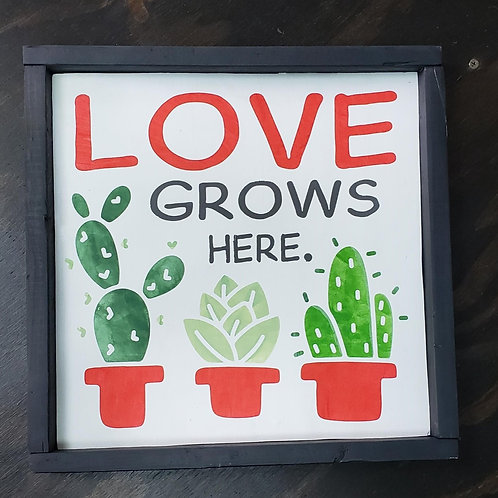 12x12 Love Grows Here