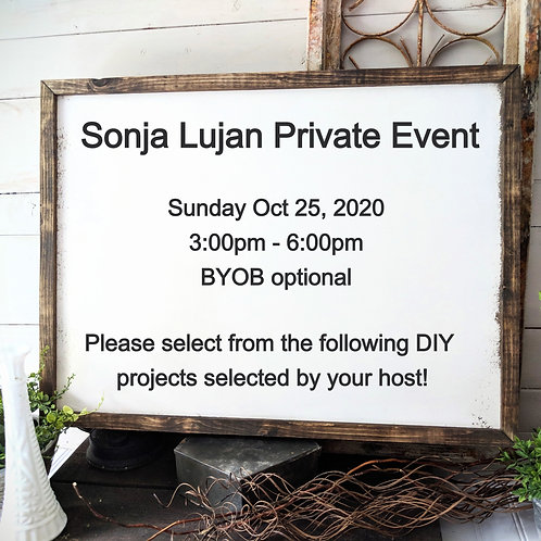 Private Event (S. Lujan)