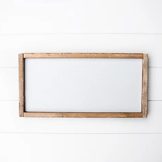 Rectangle 11x14 Framed