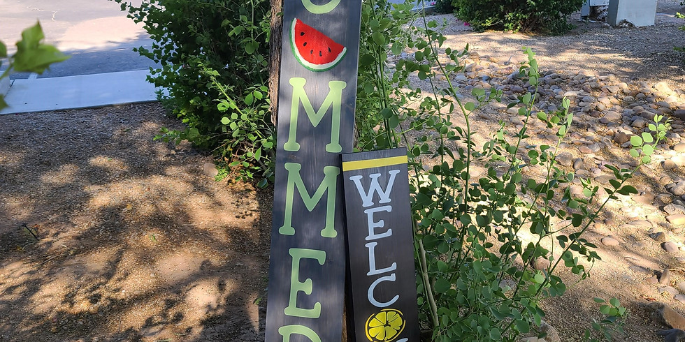 Sat 6/19 Summer & Citrus Porch Signs