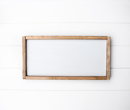 DIY Blank Framed Rectangle - Pick your design. (Starting at $35.00