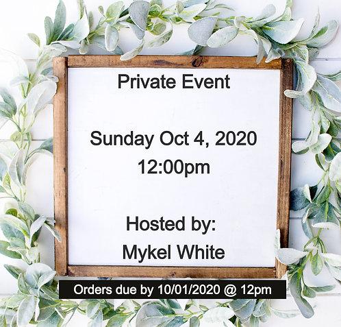 Private Event (M. White)