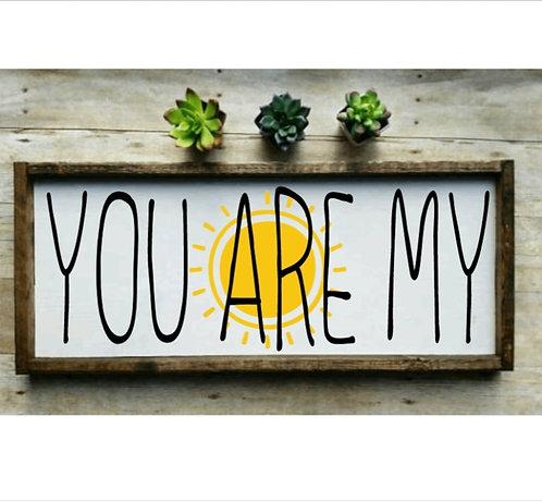 DIY: You are my (sunshine)