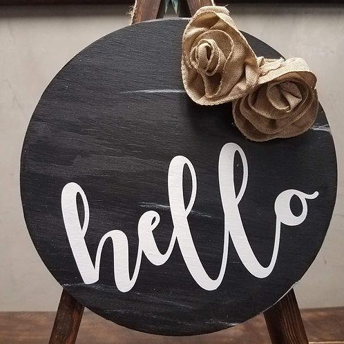 DIY: HELLO Door round (starting at 25)