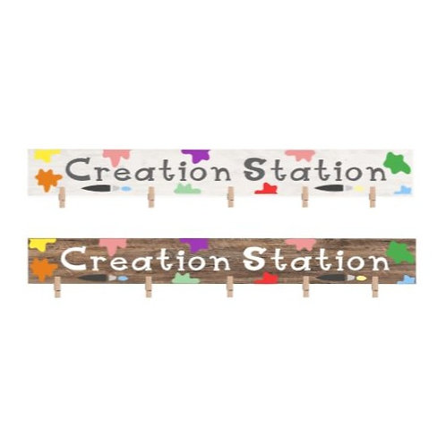 Creation Station (starting at $10.00)