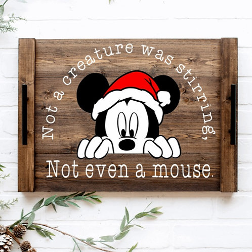 DIY: Not even a mouse (MICKEY) serving tray