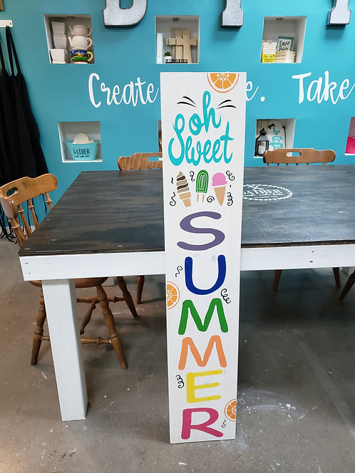 DIY: Oh Sweet Summer Porch Board (Starting at $40.00)