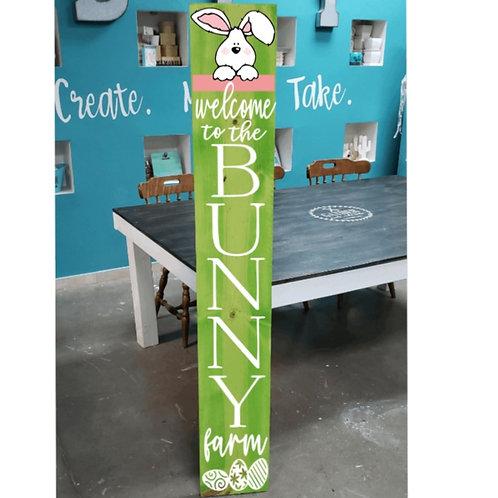DIY: Bunny Farm Porch Board (Starting at $ 30.00)