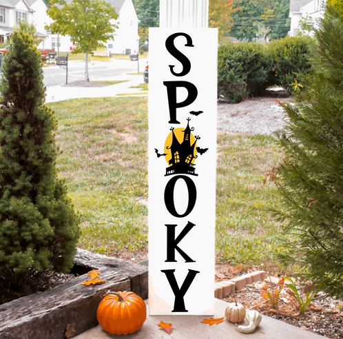 DIY: Spooky Porch Board (Starting at $40.00)