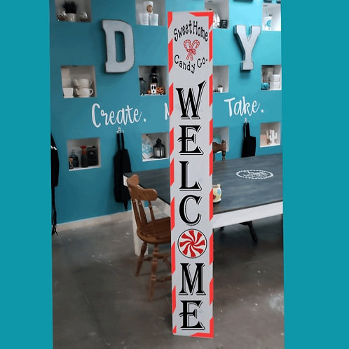 DIY: Candy Co. Welcome Porch Board (Starting at $30.00)