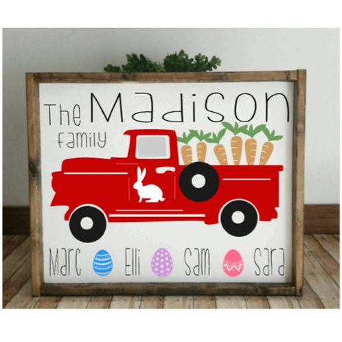 DIY: Red Truck Easter (Starting at $35.00)