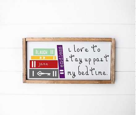 DIY: Stay Up Past Bedtime