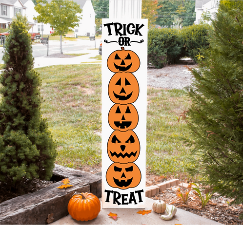 DIY: Stacking Pumpkins Porch Board (Starting at $40.00)