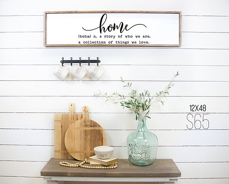 Ready Made: Home Farmhouse Sign
